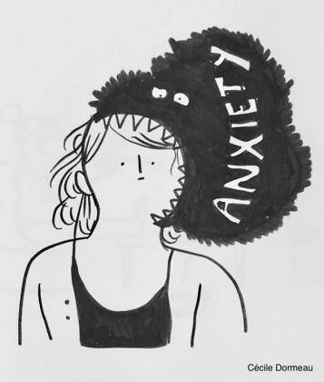 Anxiété Cecile Dormeau